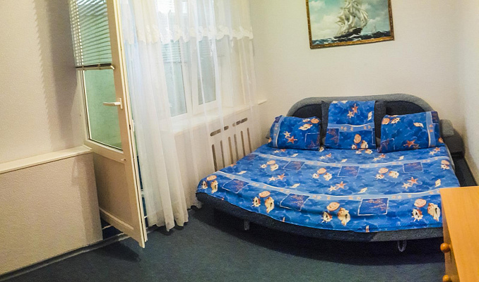 Двухкомнатная квартирапосуточно в Партените, Фрунзенское Шоссе, 6а