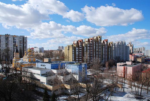 Двухкомнатная квартирапосуточно в Киеве, Соломенский район, ул. Патриарха Мстислава Скрипника, 9