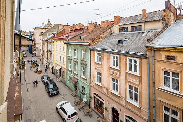 Однокомнатная квартирапосуточно в Львове, Галицкий район, ул. Староеврейская, 11